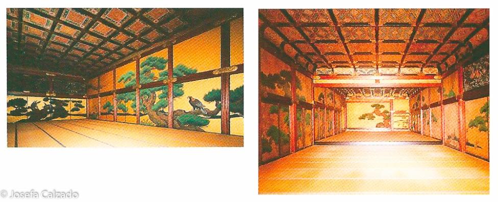 """Interior sala """"arsenal"""" y del gran salón- Ohiroma"""