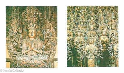 Diosa Kannon y las 1001 estatuas
