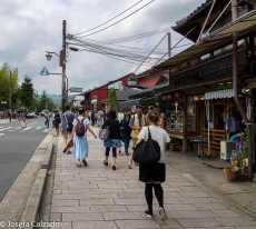 Calle principal de Arashiyama