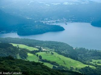 Vista desde la cumbre del monte Komagatake