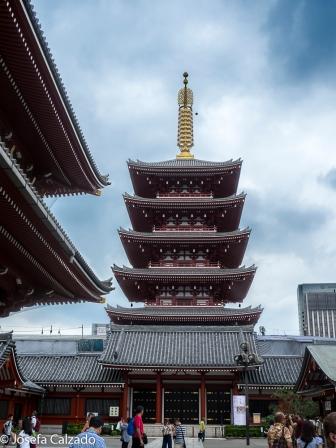 Pagoda de 5 pisos