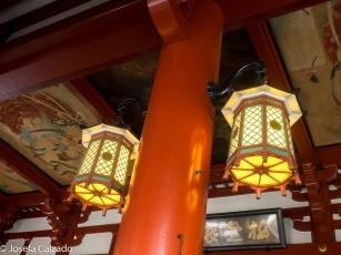 Detalle decoración techo interior del Hondo