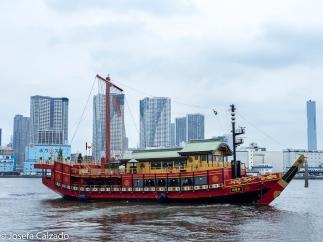 Barco turista