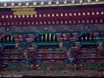Detalle decoración de la pagoda