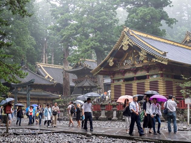Calle principal de los establos sagrados