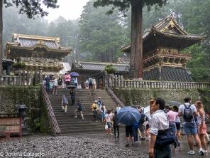 Puerta Yomeimon y torre del tambor