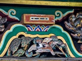 Gorriones puerta de Sakashitamon