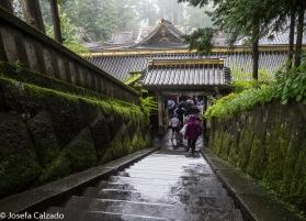 Parte de atrás de la puerta Sakashitamon