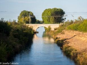 Vista del Canal de Castilla