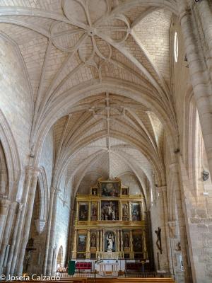 Detalle interior de San Pedro