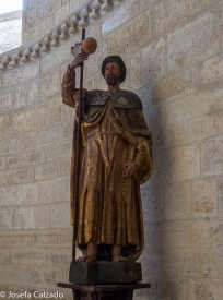Talla de Santiago del siglo XVI
