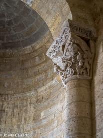 Detlle capitel ábside centralA