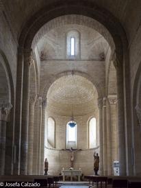 Vista del interior de la nave central