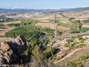 Vista del Valle del Pisuerga