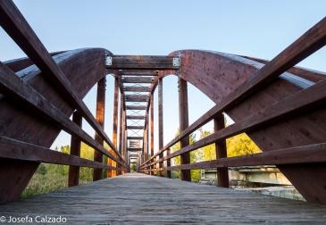 Puente sobre el río Pisuerga