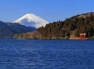 Monte Fuji en un día despejado
