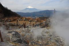 Mirador del Monte Fuji en un día sin niebla