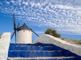 Detalle molino de viento