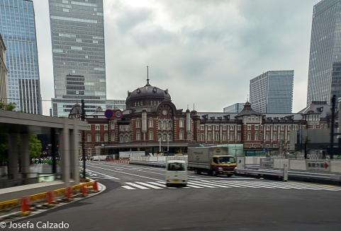 Vista exterior de la Estación Central de Tokio