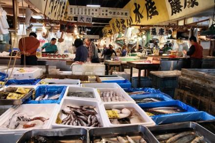 Mercado central de Tsukiji
