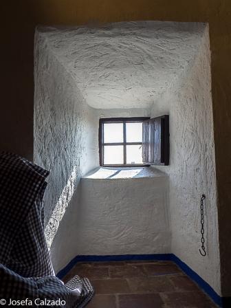 Detalle ventanuco de la camareta