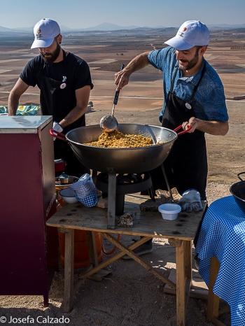 Cocinando las migas