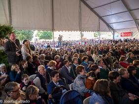 Publico del festival de folklore