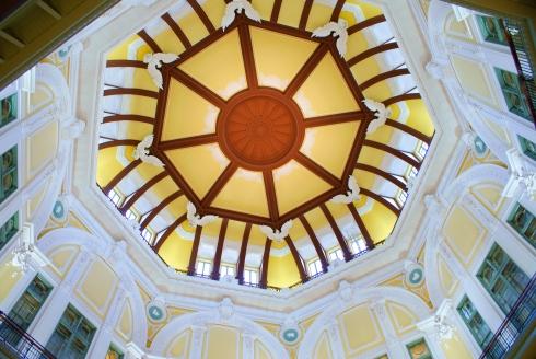Detalle bóveda del vestíbulo