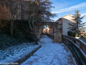 Arco de entrada a Ntra. Sra. del Espino
