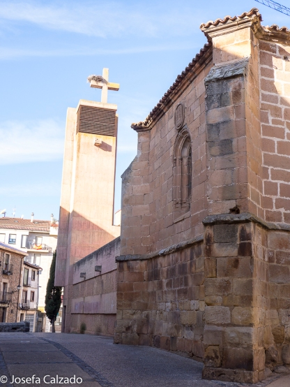 Detalle ábside Iglesia de El Salvador