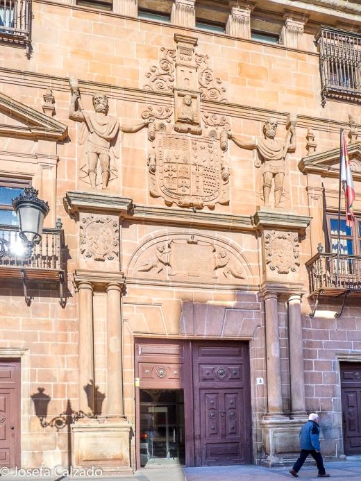 Portada del Palacio de los Condes de Gómara