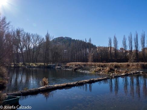 Vista desde el Duero del Parador de Soria