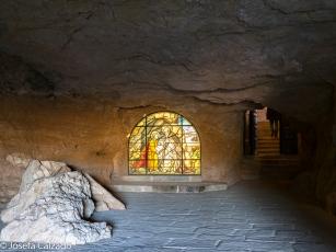 Entrada a la ermita