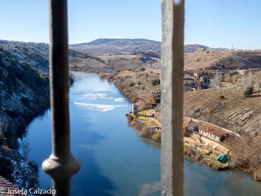 Vista desde la Sala de Los Canónigos