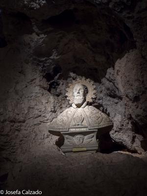 Busto de San Saturio