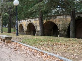 Antiguos depósitos de agua