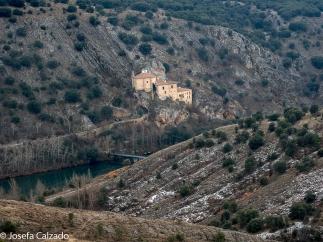 San Saturio desde el mirador del parque