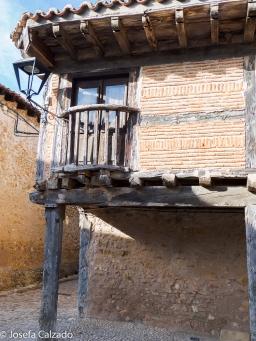 Detalle de la construcción de Calatañazor