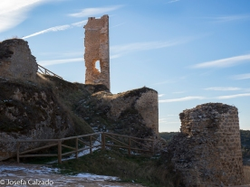 Subida al Castillo de Calatazañor