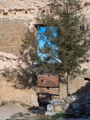 Detalle desde el Castillo de Calatañazor