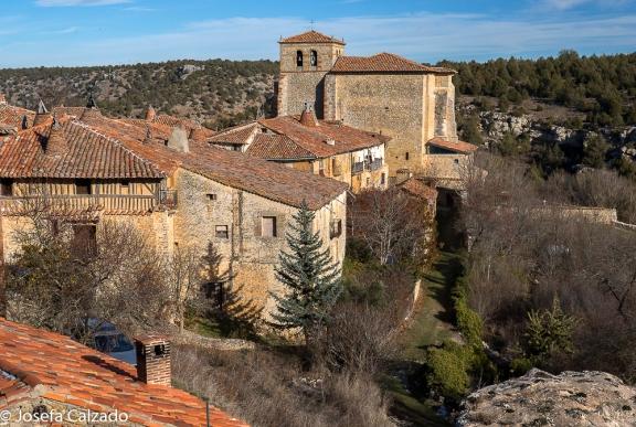 Vista desde el Castillo de Calatañazor