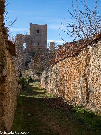 Camino al Castillo de Calatañazor