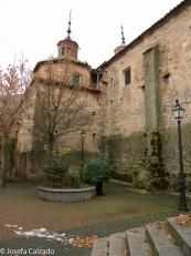 Patio de la parroquia de San Pedro