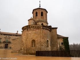 Detalle ábside Iglesia de San Miguel