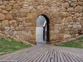 Entrada hacia el mirador del Duero