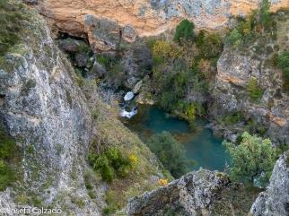 Detalle de una de las pozas del rio Júcar