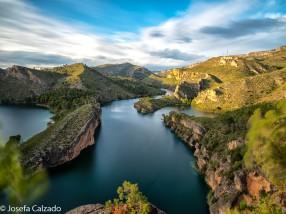 Desde el mirador del lago del Bolarque