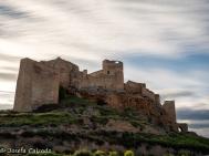 Atardecer en el Castillo de Zorita de los Canes