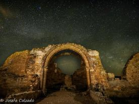 Vía Láctea en el Arco Central de la Basílica