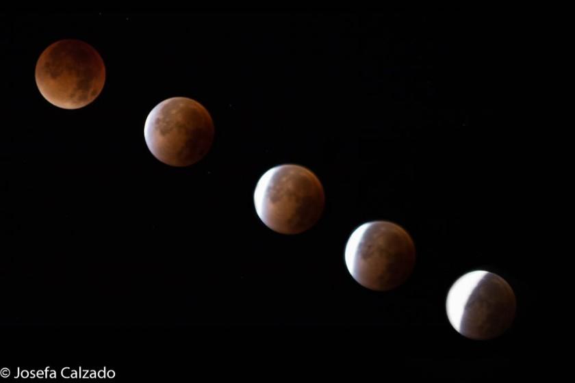 Eclipse lunar de septiembre del 2015